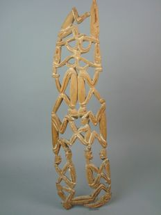 Wooden ornament - Asmat West Papua