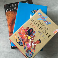 Lot of 3 first editions by Salman Rushdie - 1990/1995