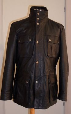 Hugo Boss - Leather  Biker Jacket