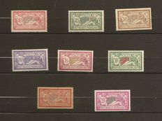 France 1900/1926 - Selection of Merson Type stamps