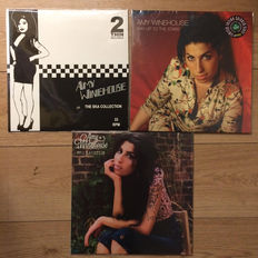 Amy Winehouse Collection | 3 L'P'S - 1 Coloured! | Still in sealing