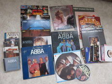 "ABBA (and related), nice collection of LP's (21), 7"" SINGLES (24) and CD's (7)"
