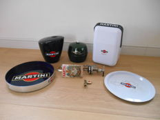 lot of 7 rare Martini objects (1950-2010)