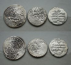 Orient – 3 coins 1100/1447 – Silver