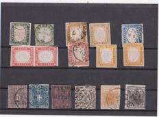 Lot of Italian stamps – Historic States of Italy, Kingdom of Italy, Italian colonies.