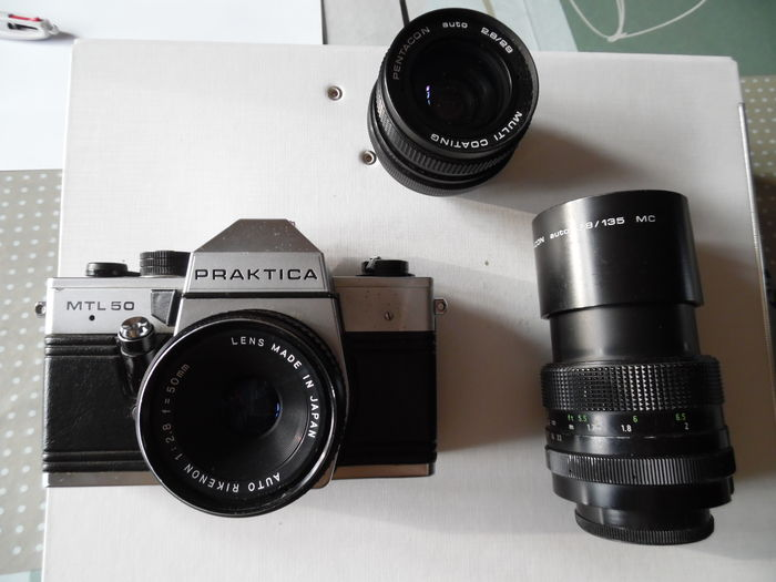 Praktica mtl mm rikenon mm pentacon