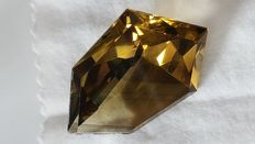 Smoky quartz - 129.04 ct