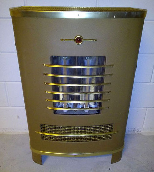 Electric heater-created from a front of a classic car