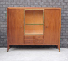 Unknown designer –solid wooden sideboard with copper details