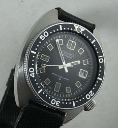 Seiko Automatic 6105-8000 'Apocalypse Now' - Men's diving watch - 1970