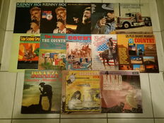 Country Music - Lot Of 13 Albums