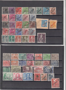 Berlin 1948/1954 - Collection on stock