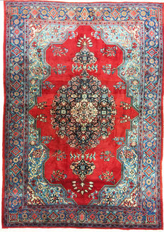 Persian rug.
