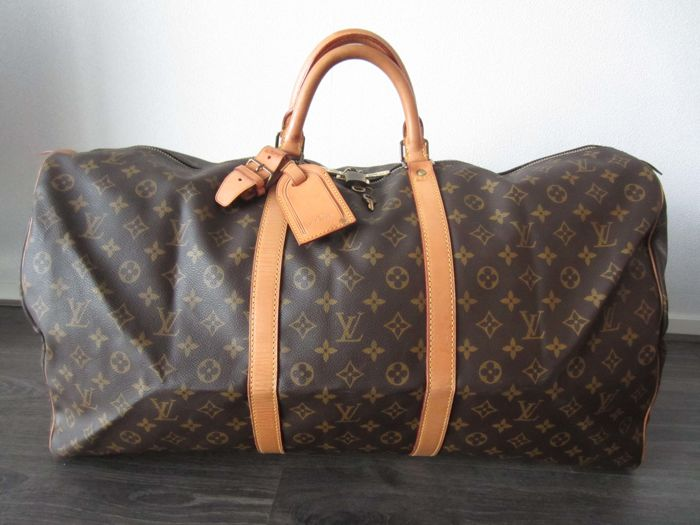 louis vuitton keepall 60 reisetasche catawiki. Black Bedroom Furniture Sets. Home Design Ideas