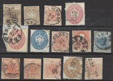 Italy Lombardy and Venice lot of stamps