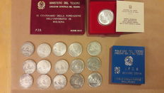Republic of Italy - Lot of 20 coins (silver)