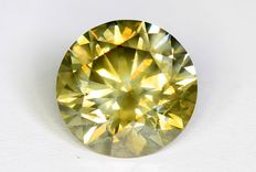 Light Brown diamond – 1.30 ct  – SI1