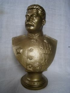 Bust - J. V. Stalin. Russian revolutionary, Soviet political, state, military and party leader