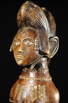 Beautiful ritual figure - PUNU/LUMBU-Gabon
