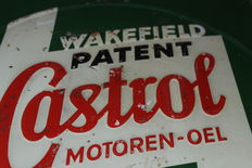 Castrol engine oil - heavy tine plate  ca. 1930