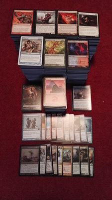 Magic: The Gathering - Lot of +/- 3.200 modern cards - Great collection -All English