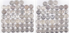 Various countries (including Germany) - 45 coins