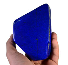Premier quality Royal Blue Lapis Lazuli tumble - 130 x 95 x 42mm - 950gm