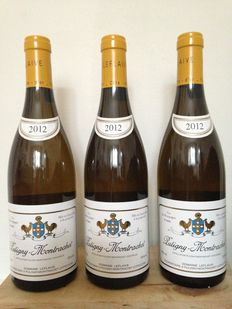 2012 Domaine Leflaive Puligny-Montrachet, Cote de Beaune - lot of 3 bottles