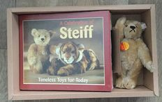 Steiff Teddy bear with book - 665325 (English version) -Germany