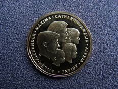 "The Netherlands - Medal ""Willem Alexander and family"" gold"