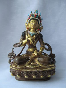 Vajrasattva statue – India – End of the 20th century