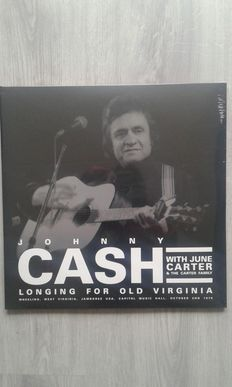 Lot of 4x Johnny Cash , Johnny Cash  ‎– Wheeling West Virginia October 2 1976 , Johnny Cash  ‎– Longing For Old Virginia , Johnny Cash ‎– Greatest! , Johnny Cash  ‎– The Rough Cut King Of Country Music .