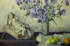 Maurice PIRENNE (1872-1968) - Nature morte - intimist painter from Verviers