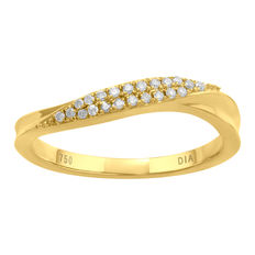 No reserve . Brand New diamond fashion ring. Made from 18kt yellow gold