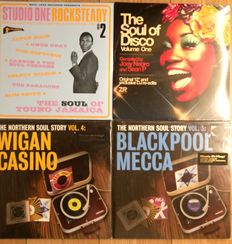 Soul collection || Soul compilation LP's || Still in sealing ||