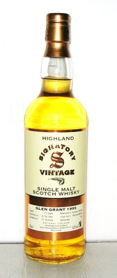 1995 Glen Grant 21 Years old - Highland - 70cl - 43% - Signatoty Vintage