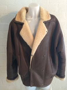 Lederatelier - Lammy coat / Aviator jacket