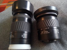 Lot Minolta / sony AF lenses 28-80 and 70-210