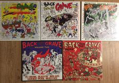 Back from the grave collection || Still in sealing || mid sixties garage punk || 5 LP's