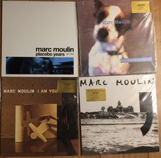 Marc Moulin collection ||  Limited editions || Coloured vinyl || Numbered || Still in sealing