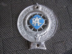 Old English RAC emblem, pre-war