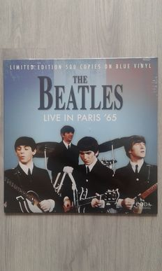 t of 3x The Beatles , The Beatles  ‎– Live In Paris '65  Limited Edition  Blue Color,  The Beatles  ‎– The Very Best Of The Beatles 1962-'64 Limited Edition  White Vinyl , The Beatles  ‎- Broadcasting Live in the USA 64  Blue Vinyl.