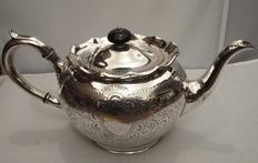 James Deakin & Son, 1871/1936, Silver plated Teapot, Made in England