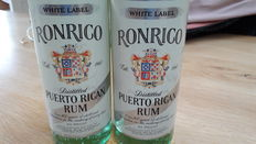 RonRico White Label - 1970's Bottling - 2 bottles
