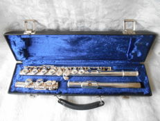 Silver-plated Flute Blessing USA