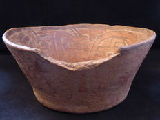 Pre-Colombian ceramic bowl - 160mm diameter