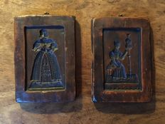 Two baker's boards in small size - Germany - 19th century