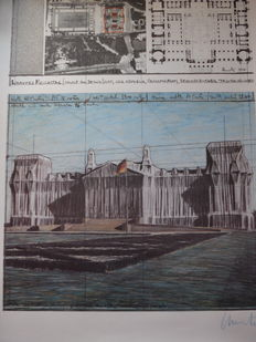Christo - Wrapped Reichstag - Project for Berlin