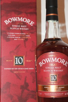 Bowmore 10 -  Inspired by the Devil's Cask series