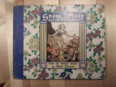 Disney, Walt - Snow White and the Seven Dwarfs - hc - 1st edition (1938)